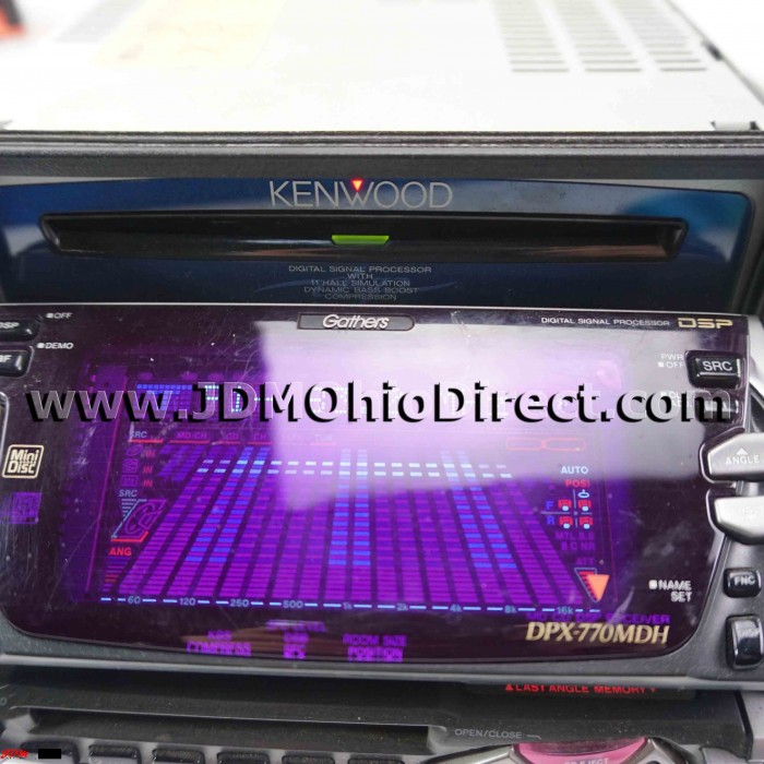 Jdm Gathers Double Din Cd Md Player Head Unit X