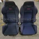 JDM DB8 Integra Type R Black Recaro Seat Set