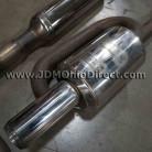 JDM DB8 Integra Mugen Twin Loop Cat Back Exhaust