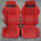 JDM DC2 Integra Type R Red Recaro Seat Set