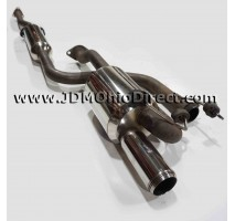 JDM DC2 Mugen Twin Loop Sports Cat Back Exhaust