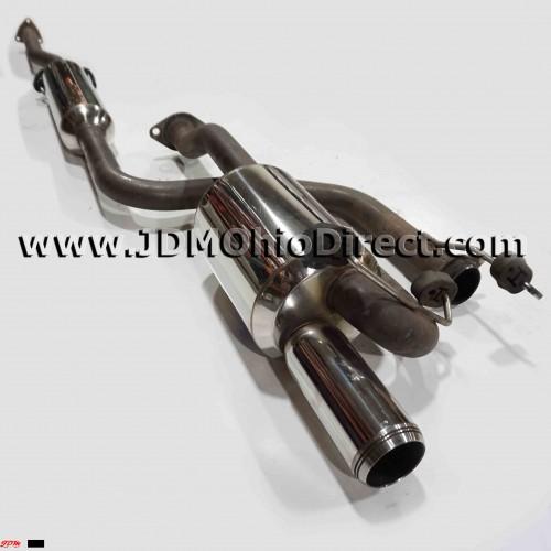 JDM DC2 Mugen Twin Loop Sports Cat Back Exhaust