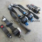 JDM DC2 Integra Type R Black Seat Belt Set