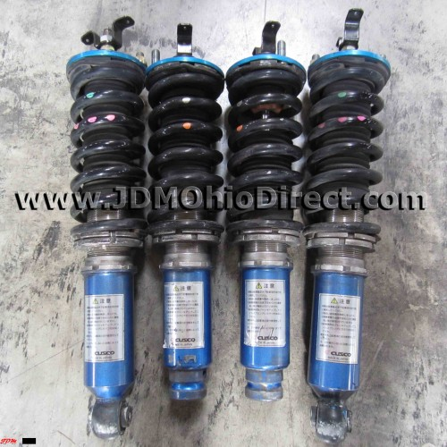 JDM DC2 Integra 5-Way Adjustable Cusco Coilovers