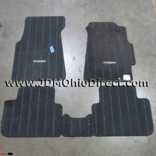 JDM DC2 Integra SiR-G 5pc Floor Mat Set