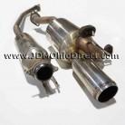 JDM DC5 Mugen Twin Loop Sports Cat Back Exhaust