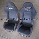 JDM DC5 Integra Type R Front Black Recaro Seats