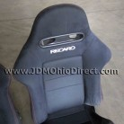 JDM 02-06 Integra DC5 Type R Front Black Recaro Seats