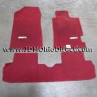 JDM DC5 Honda Integra Type R Red Floor Mat Set