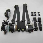 JDM DC5 Integra Type R Black Seatbelt Set