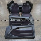 JDM EG6 Civic SiR-S Checkered Black Interior Conversion