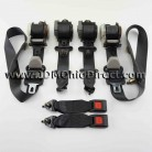 JDM EG6 Civic SiR Black Seat Belt Set