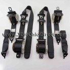 JDM EK9 Civic Type R Black Seatbelt Set