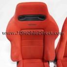 JDM EK9 Civic Type R Red Recaro Seats