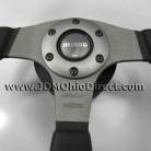 JDM MOMO Race Steering Wheel with Civic EK9 Hub