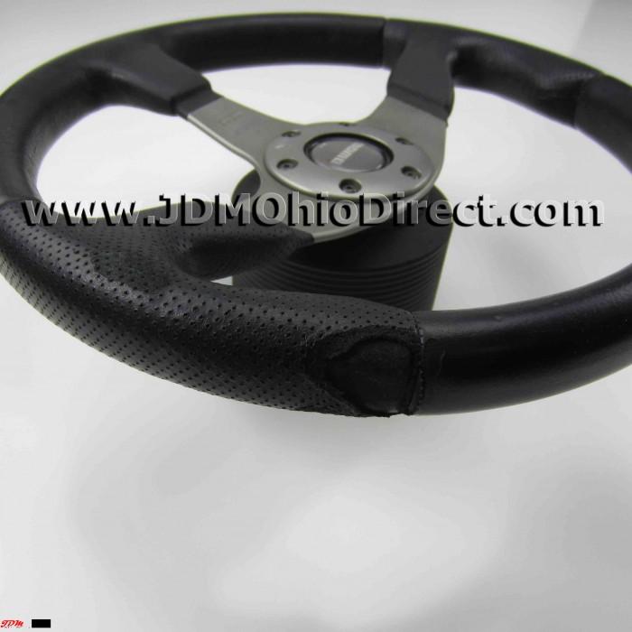 Jdm Momo Steering Wheel With Civic Ek Hub X