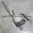 JDM EK9 Civic Type R Cat Back Exhaust