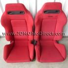 JDM Civic Type R EK9 Red Recaro Seats