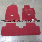 JDM EP3 Honda Civic Type R Red Floor Mat Set