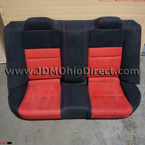 JDM FD2 Civic Type R Red/Black Rear Seat Set