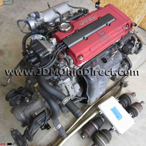 B18C 98spec Integra Type R Full Engine Swap