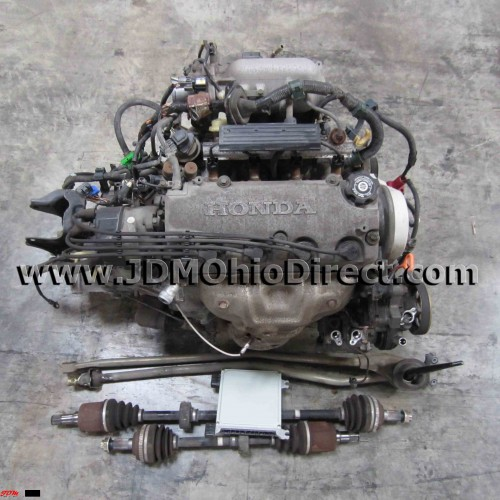 D15B 3-Stage VTEC Civic ViRS Full Engine Swap