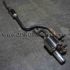 JDM EK9 Mugen Twin Loop Sports Cat Back Exhaust