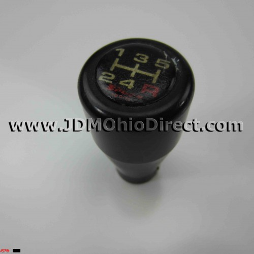 Spoon Sports Black Duracon Shift Knob