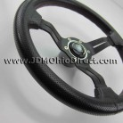 Nardi Deep Corn White Signature 330mm Leather Steering Wheel