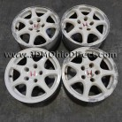 JDM EK9 Civic Type R White Wheels 5 Lug 5x114.3