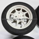 JDM DC2 Integra Type R 4x114 Wheel and Tire Set