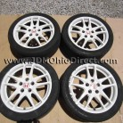 JDM DC5 Integra Type R White Wheels 5 Lug 5x114.3