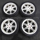 JDM EP3 Type R White Wheels 5 Lug 5x114.3