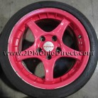 JDM Advan RC Red 16 inch Wheels 5x114.3