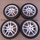 JDM DC5 Integra Type R Silver Wheels 5 Lug 5x114.3