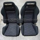 JDM SR3 Recaro Le Mans Confetti Seat Set