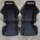 JDM SR2 Recaro Le Mans Confetti Seat Set