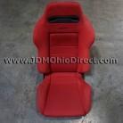 JDM SR3 Red Recaro Left Seat