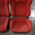 JDM DC2 Integra Type R Red Recaro Seat Set