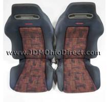 JDM SR3 EVO 4 Recaro Front Seat Set